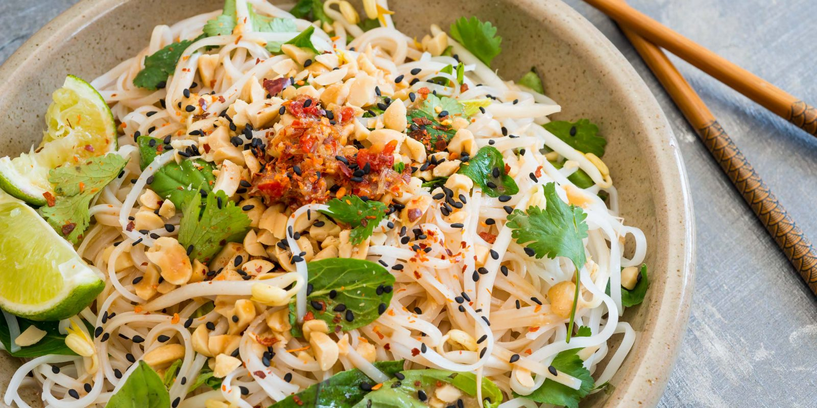 Coconut and Herb Noodle Salad