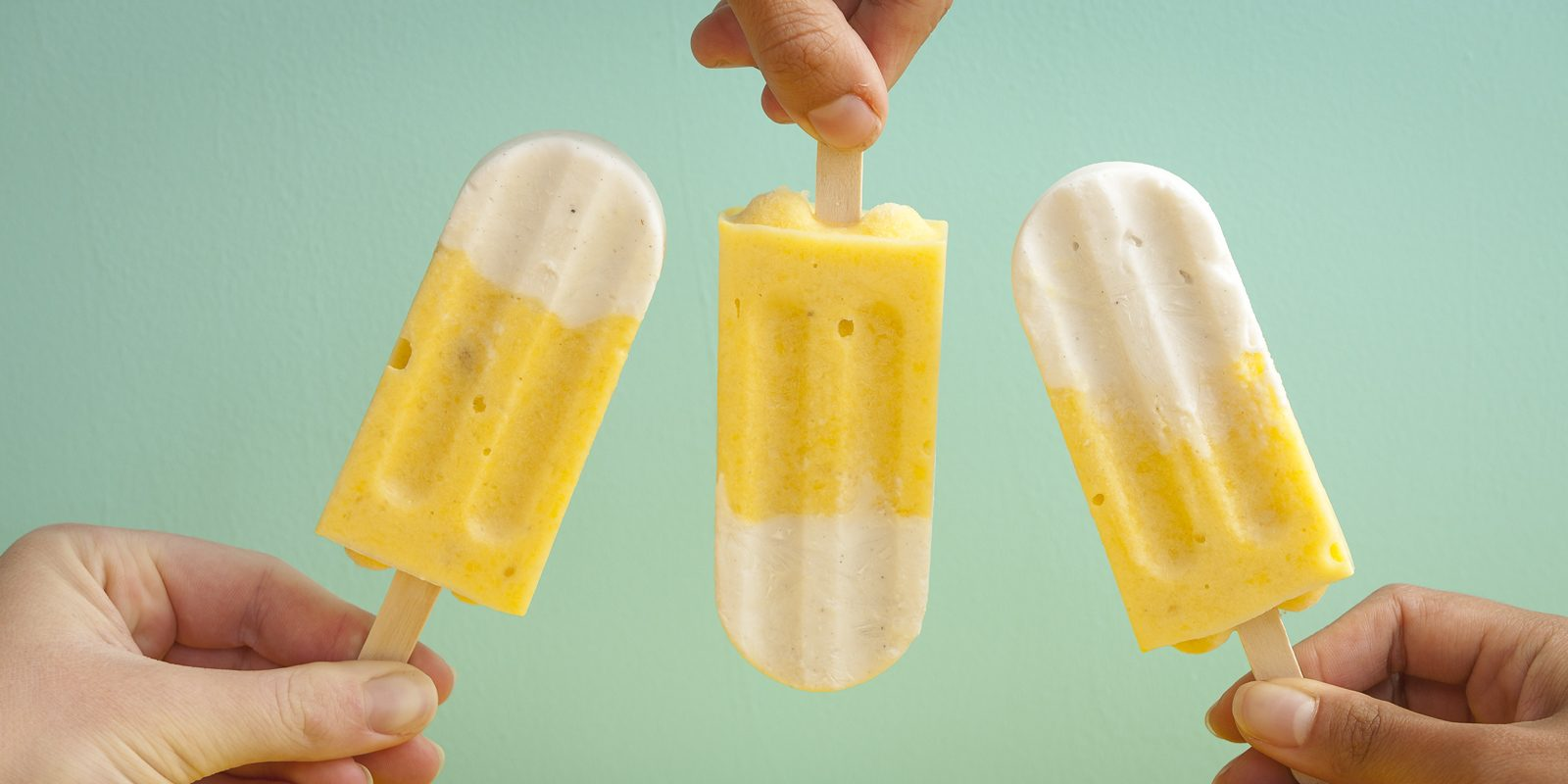 Mango & Coconut Popsicles